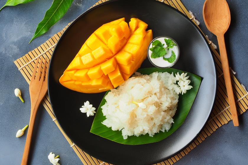 Ellenállhatatlan ragacsos rizs – Kókuszkrémmel és mangóval a legfinomabb
