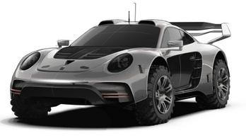 Terepjáró Porsche 911-est mutat a Gemballa