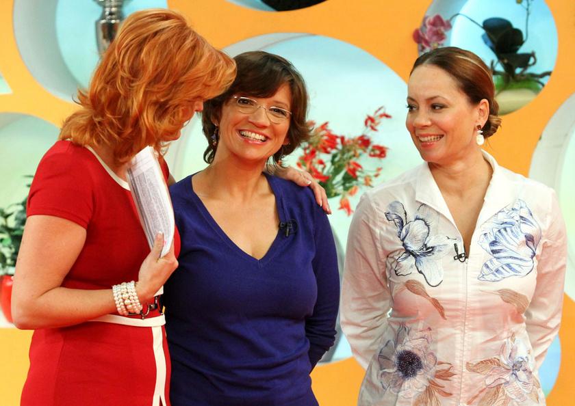 2011-ben a reggeli című műsorban Keleti Andreával és Csisztu Zsuzsával