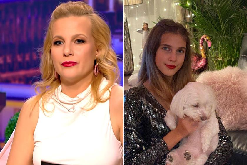Várkonyi Andrea és Nóri közt eszméletlen a hasonlóság, mindketten ugyanolyan szépek.