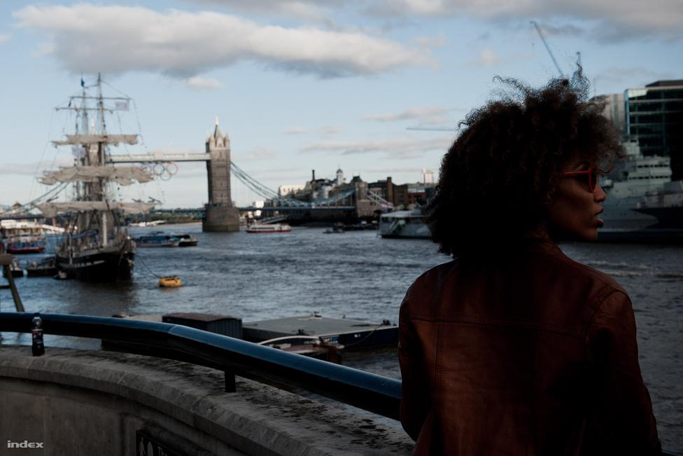 London, Temze, napsütés, olimpia.