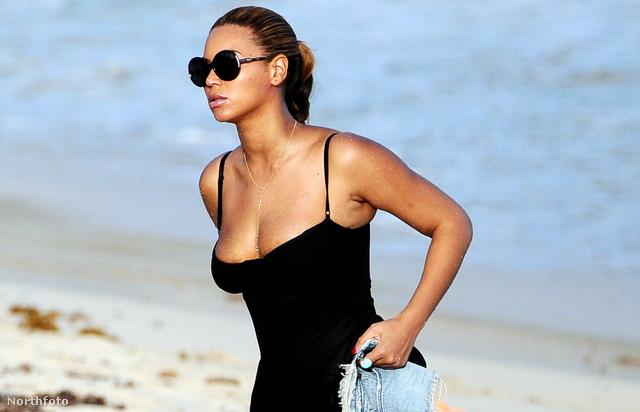 Beyoncé egy Karib-tengeri szigeten