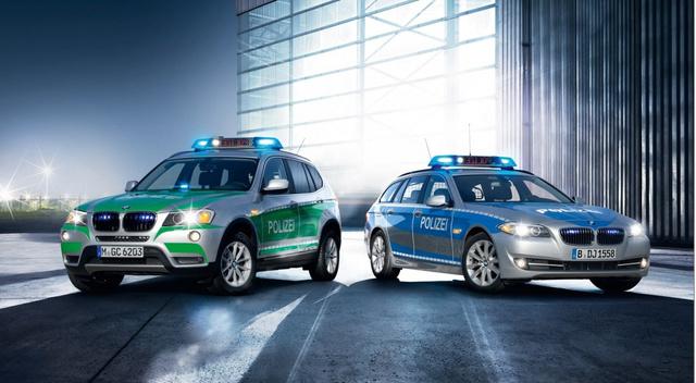 Totalcar - Magazin - Megjöttek az új rendőrségi BMW-k