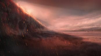 Vaseső hullik egy pokoli exobolygón
