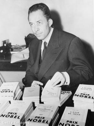 Albert Camus 1957-ben