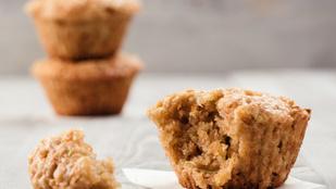 Répás muffin gluténmentes, tejmentes, cukormentes verzióban