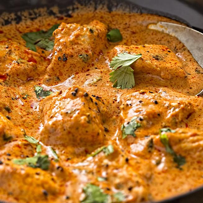 Pikáns indiai csirkecurry – Rizs és naan kenyér mellé is tökéletes