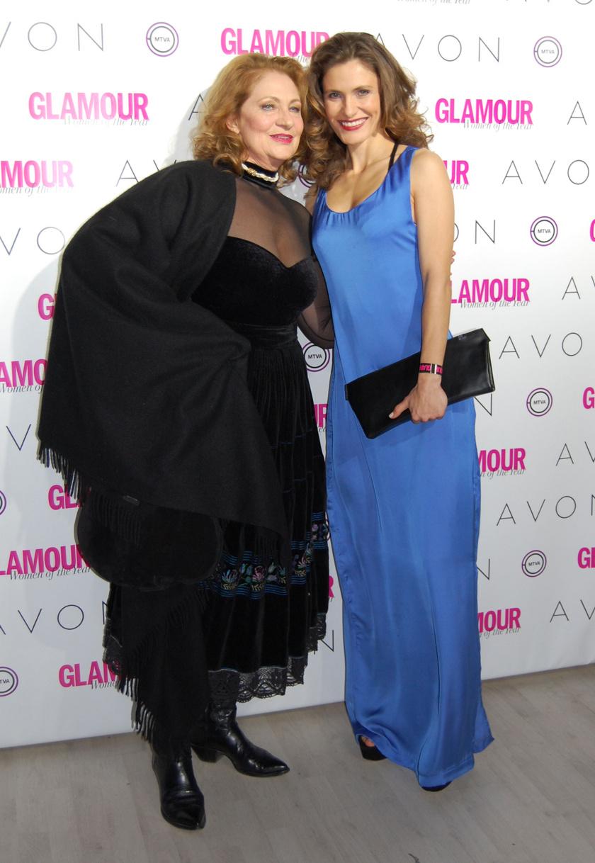 Bordán Irén és Bordán Lili a 2014-es Glamour-gálán
