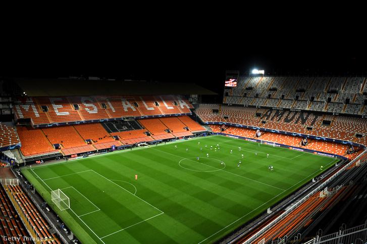 Zártkapus mérkőzés a Valencia - Atalanta 2020. március 10-én