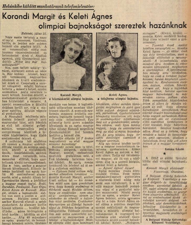 Szabad-Ifjuság,-1952