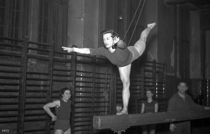Keleti Ágnes 1952-ben