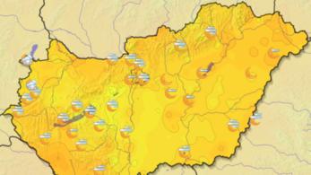Megdőlt 1 fokkal Budapesten a melegrekord