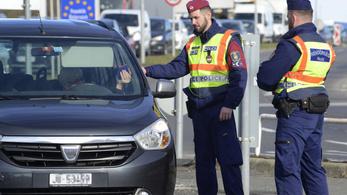 Sopronnál nem okozott nagyobb fennakadást a határellenőrzés első napja