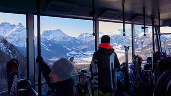 Hétfőtől minden panzió és sífelvonó bezár Tirolban