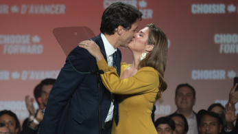 Pozitív lett a kanadai miniszterelnök feleségének koronavírus-tesztje
