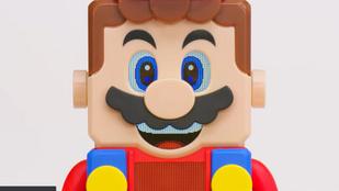 Itt a Super Mario témájú legókészlet