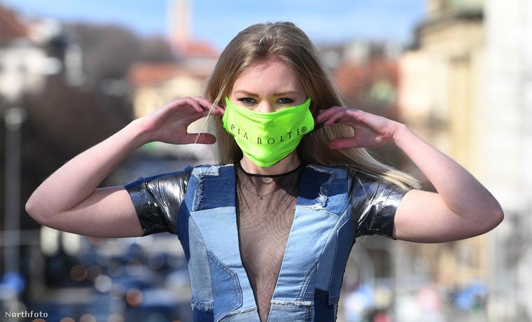 Ha hasznot nem is húzott, megihletődni egész biztosan megihletődött egy müncheni divatcég a koronavírusból