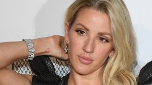 Az újra egészséges Ellie Goulding bátran félmeztelen