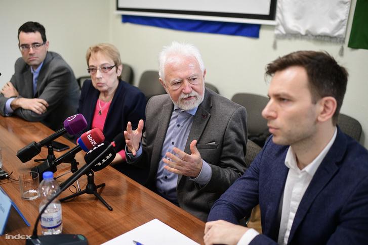 A Magyar Orvosi Kamara sajtótájékoztatója 2020. március 11-én.
