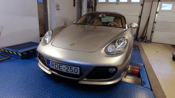 Totalcar Erőmérő: Porsche Cayman S – 2011.