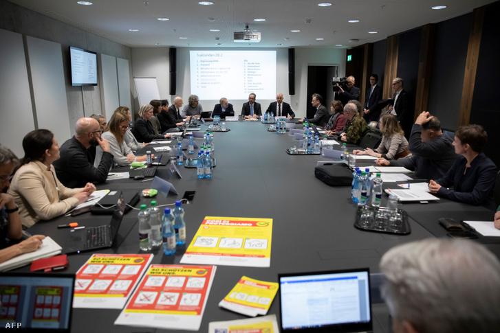 A svájvci kormány válságtanácskozása 2018 február 28-án