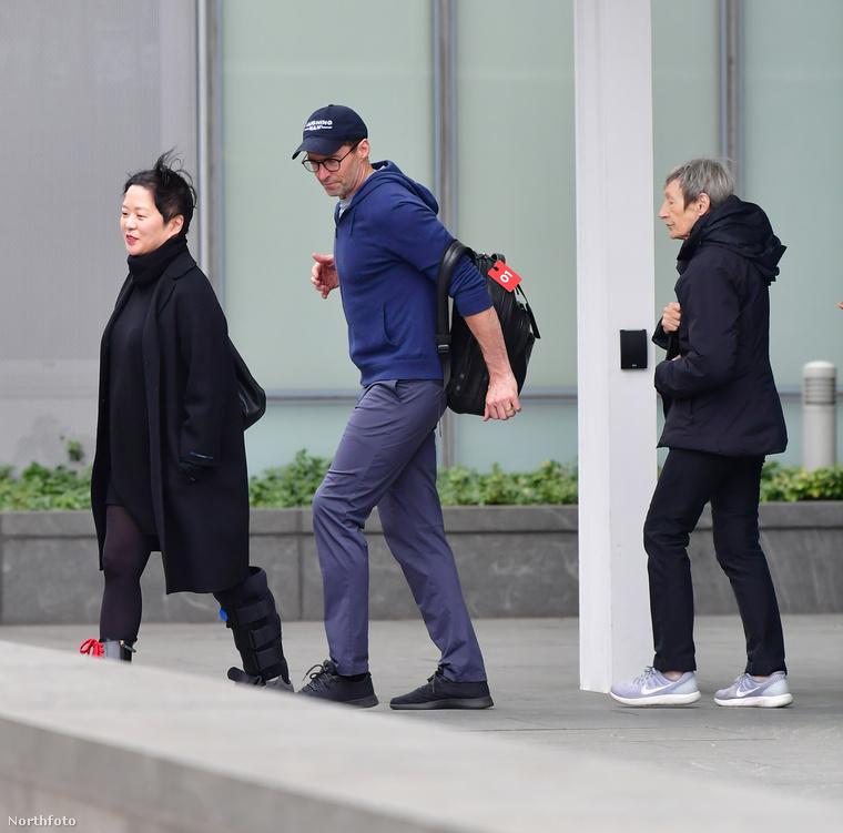 És még a búcsút megelőzően volt, hogy Jackman és édesanyja, Grace McNeil sétálgattak egyet a városban