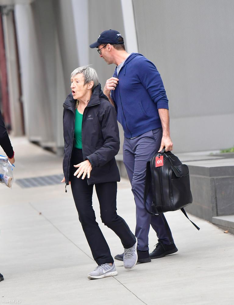 A New York-i családi találkozón nem csak az édesanya volt ott, hanem az X-Men-filmekből is ismert színész két gyereke is.