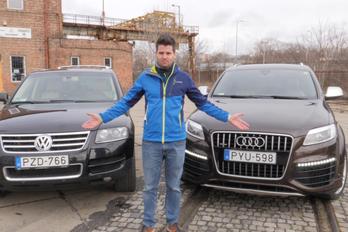 Az évszázad utolsó gigadízel-videója: Audi V12 TDI és  Volkswagen V10 TDI