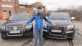 Használtteszt: Audi Q7 V12 TDI és Volkswagen Touareg V10 TDI