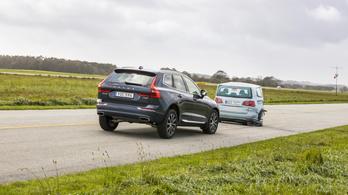 A biztonsági vészfék hibája miatt hív vissza autókat a Volvo