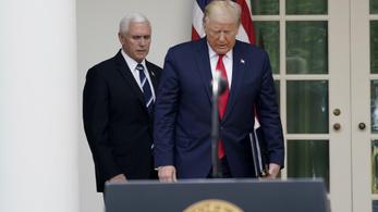 Trump szükségállapotot hirdetett az USA-ban