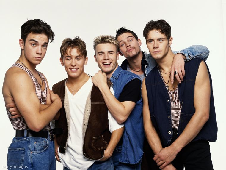 Csakis a hecc kedvéért azt is megmutatjuk, hogy nézett ki 1992-ben, amikor még a Take That angol fiúbanda tagja volt