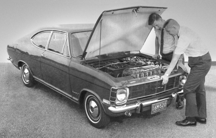 Opel Kadett B Stir-Lec I 1968-ból