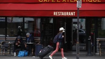 Franciaországban bezárnak mindent, ami nem létfontosságú