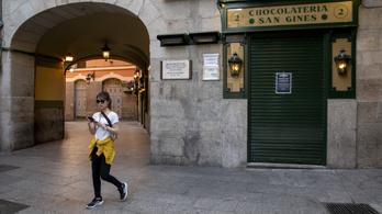 Spanyolország is bezárt, 47 millió ember reked az otthonában