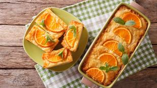 Túrós-grízes kevert süti egy kis narancshéjjal – kezdőként is sikered lesz vele