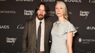Keanu Reeves barátnője végre interjút adott, párkapcsolatukról is beszélt