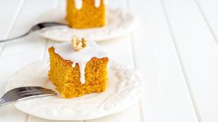 Bevállalós vagy? Akkor a kedvenced lehet ez a sütőtökös kevert süti narancsos mázzal