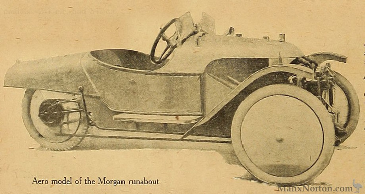 Morgan Aero 1922-ből