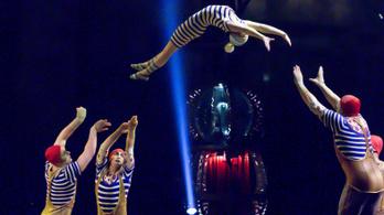 Leállítja előadásait a Cirque du Soleil a vírus miatt