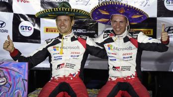 Megnyerte a Mexikó-ralit, majd kiosztotta a verseny szervezőit