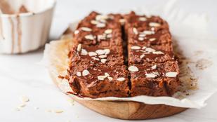 A brownie egy kicsit egészségesebb, ha egy adag édesburgonya is kerül bele