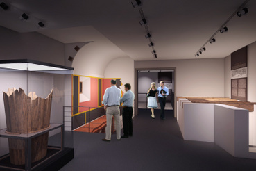 A Klapka György Múzeum belső látványterve