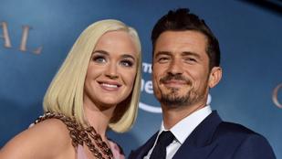 Orlando Bloom 6 hónap cölibátus után talált rá Katy Perryre