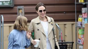 Amerikában is elkezdtek nagybevásárolni a sztárok, Angelina Jolie is így tett