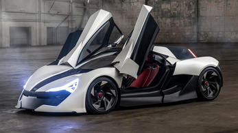 AP-0: még egy extrém villany-sportkocsi