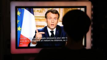 Franciaországban betiltják a családi összejöveteleket, lezárja a határokat is, 100 ezer rendőrt küldenek az utcákra