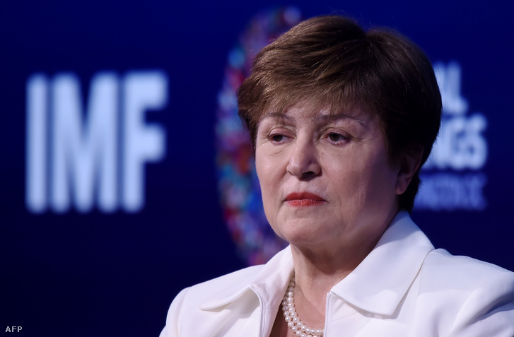 Kristalina Georgieva, a Világbank vezérigazgatója