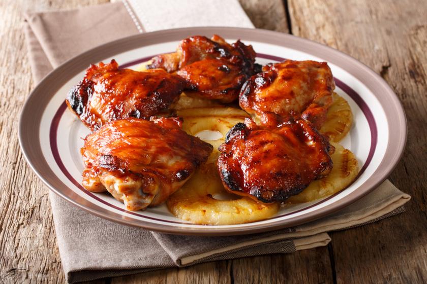 ananászos csirke recept