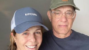 Tom Hanks és felesége elhagyhatták a kórházat